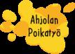 Ahjolan Poikatyö